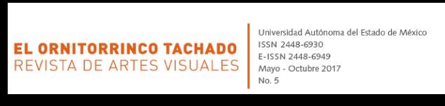 El ornitorrinco tachado. Revista de artes visuales